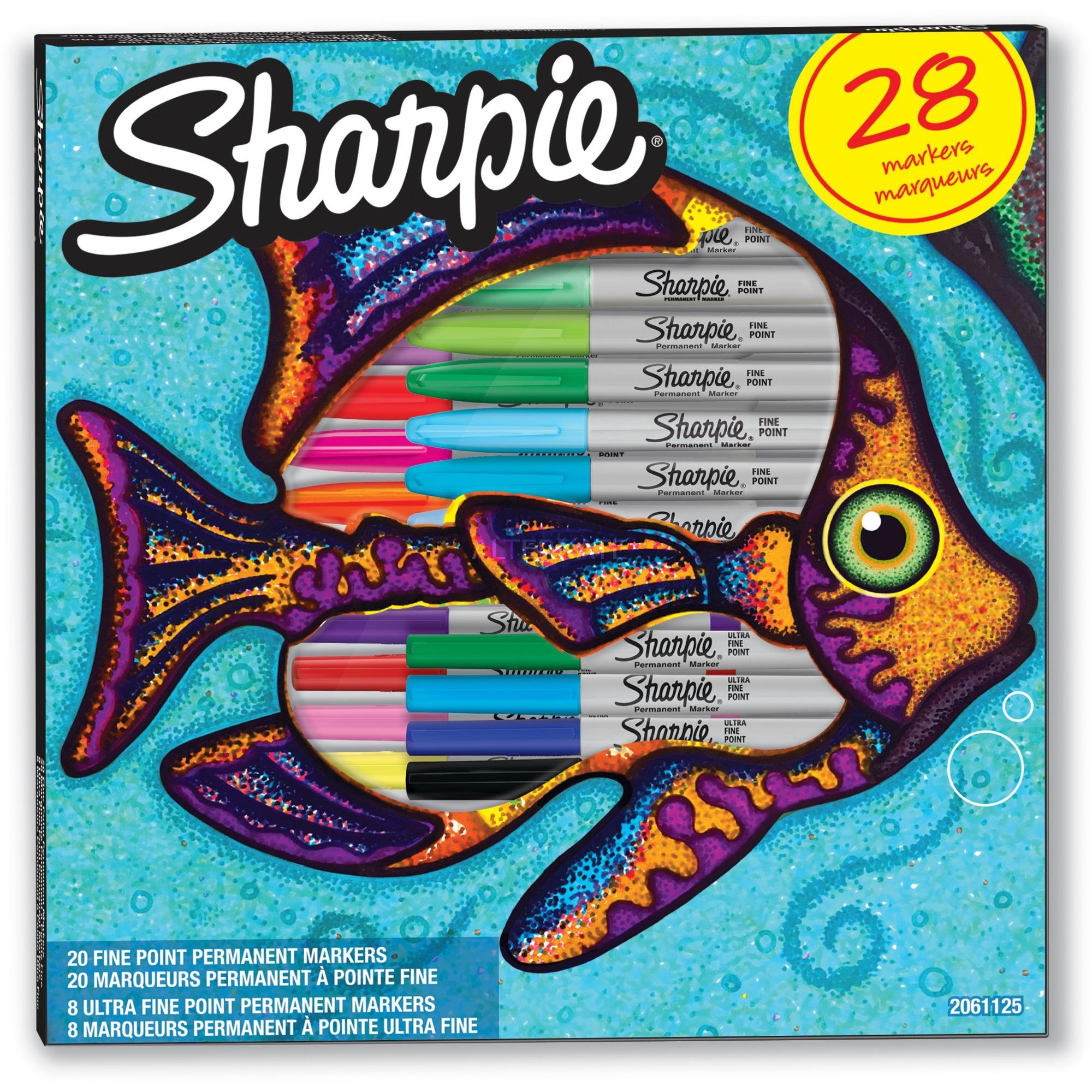 2061125 marcador 28 pieza(s) Multicolor Punta fina, Lápiz
