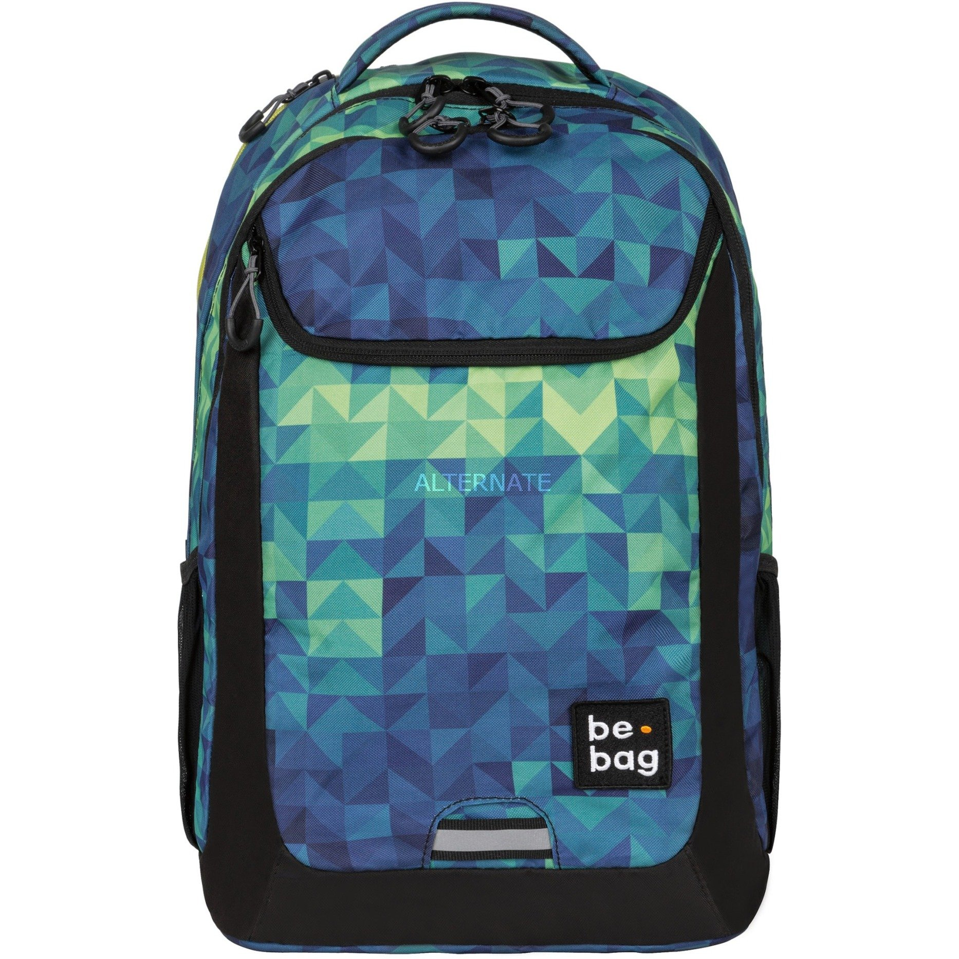 be.bag be.active Niño/niña School backpack Negro, Azul, Verde Poliéster, Mochila