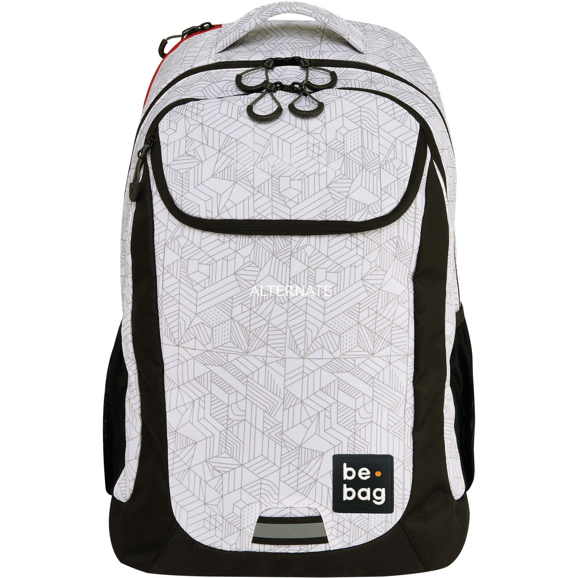 be.bag be.active Niño/niña School backpack Negro, Blanco Poliéster, Mochila
