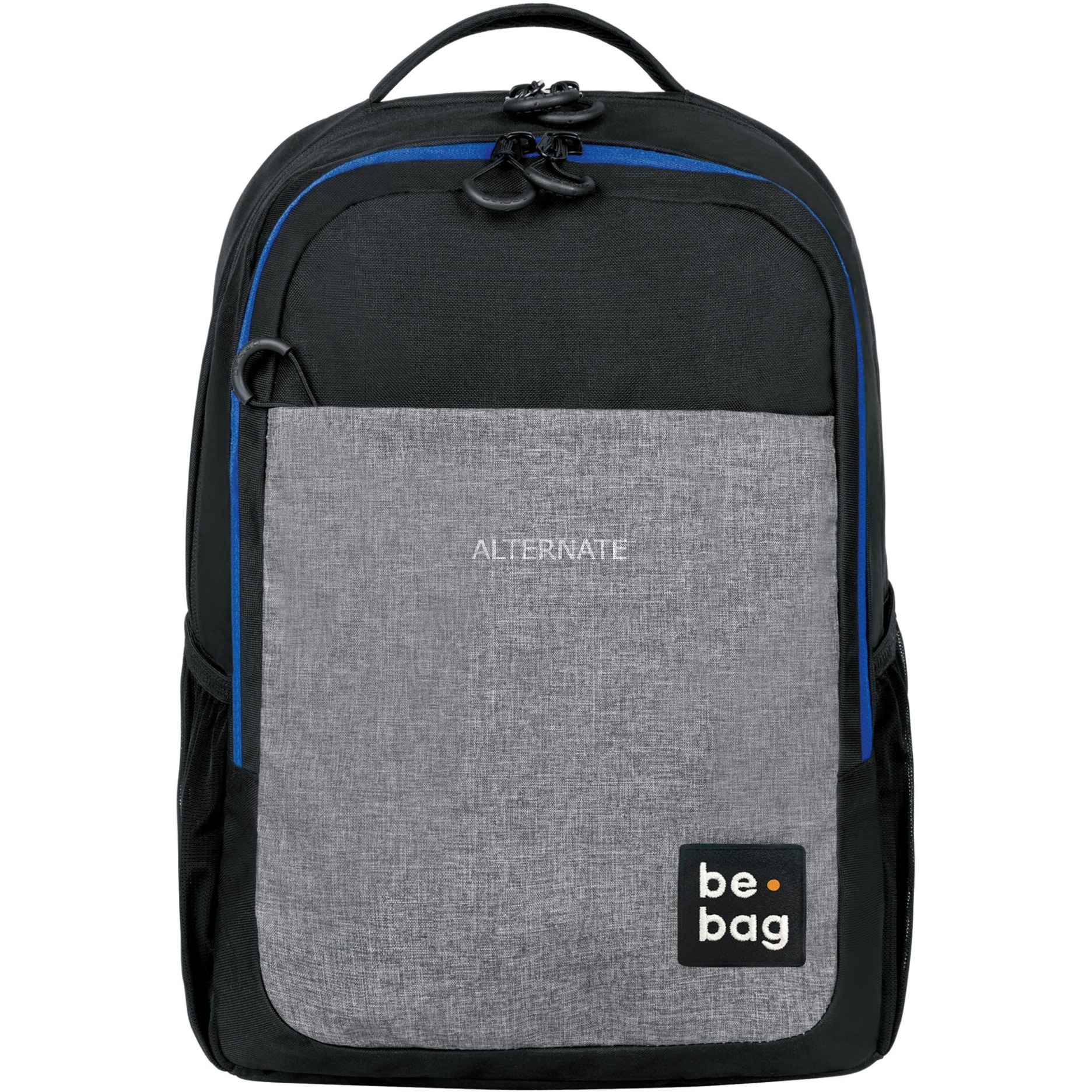 be.bag be.clever Niño/niña School backpack Negro, Azul, Gris Poliéster, Mochila