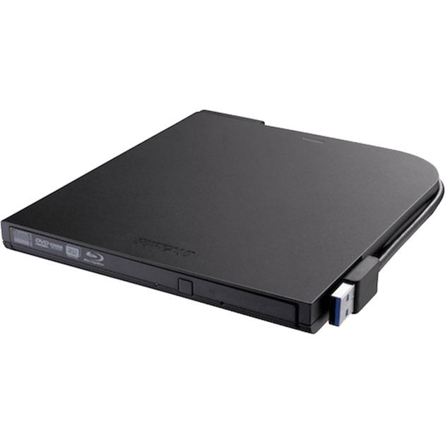 BRXL-PT6U2VB Blu-Ray RW Negro unidad de disco óptico, Regrabadora Blu-ray
