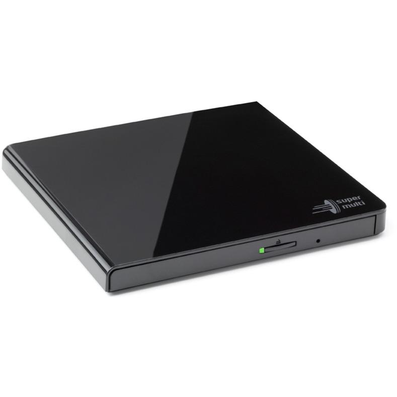 GP57EB40.AHLE10B unidad de disco óptico Negro DVD Super Multi DL, Regrabadora DVD externa