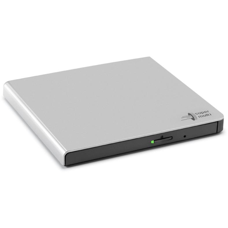 GP57ES40 unidad de disco óptico Plata DVD Super Multi, Regrabadora DVD externa