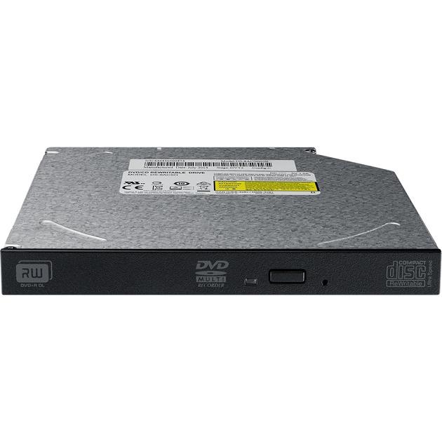 DS-8ACSH Interno DVD±RW Negro, Gris unidad de disco óptico, Regrabadora DVD