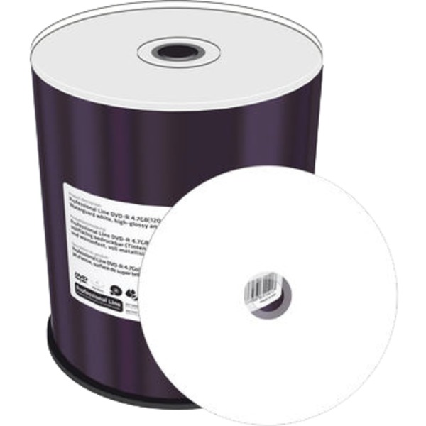 4.7GB, DVD-R, 100 pack 4.7GB DVD-R 100pieza(s), DVDs vírgenes