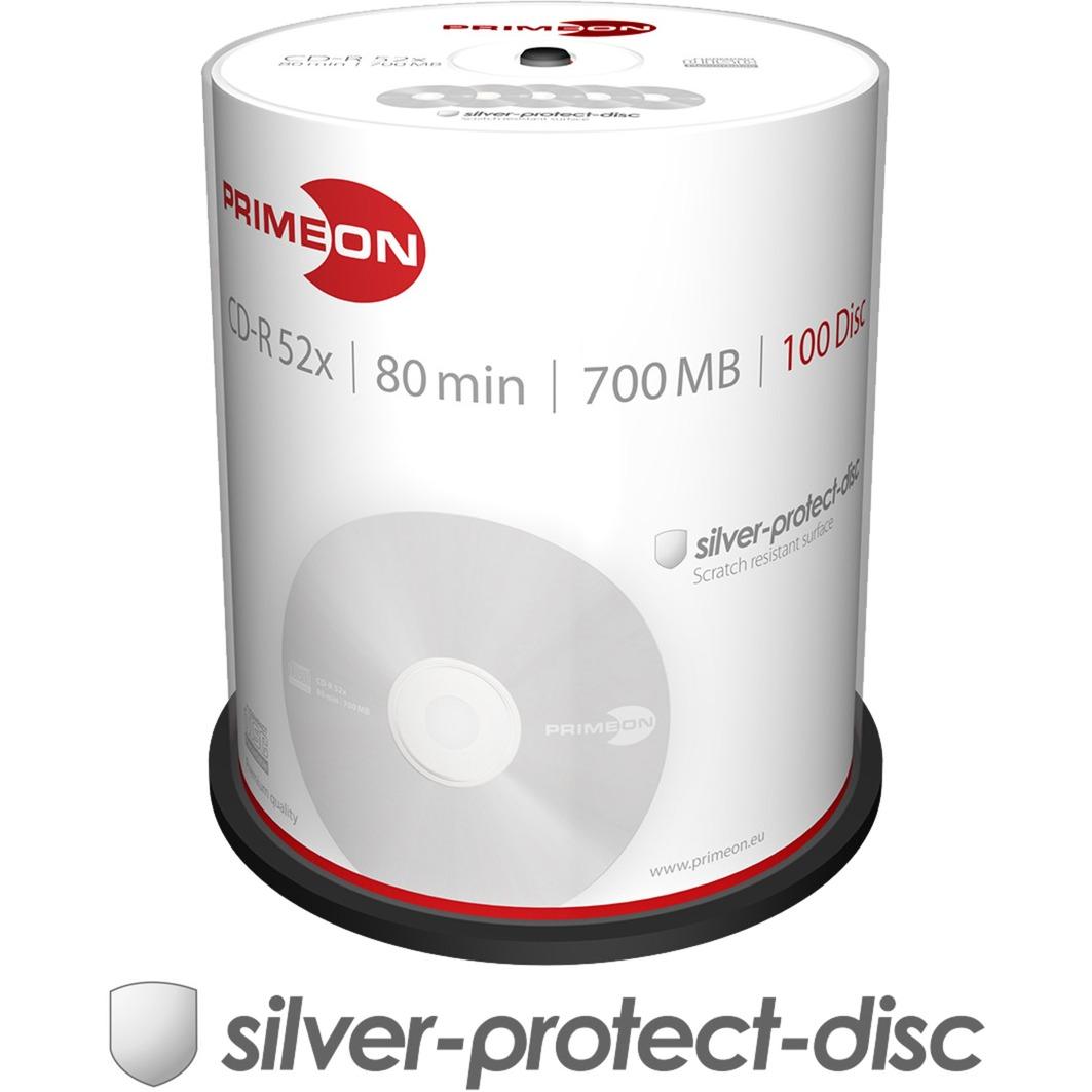 2761103 CD en blanco CD-R 700 MB 100 pieza(s), CDs vírgenes