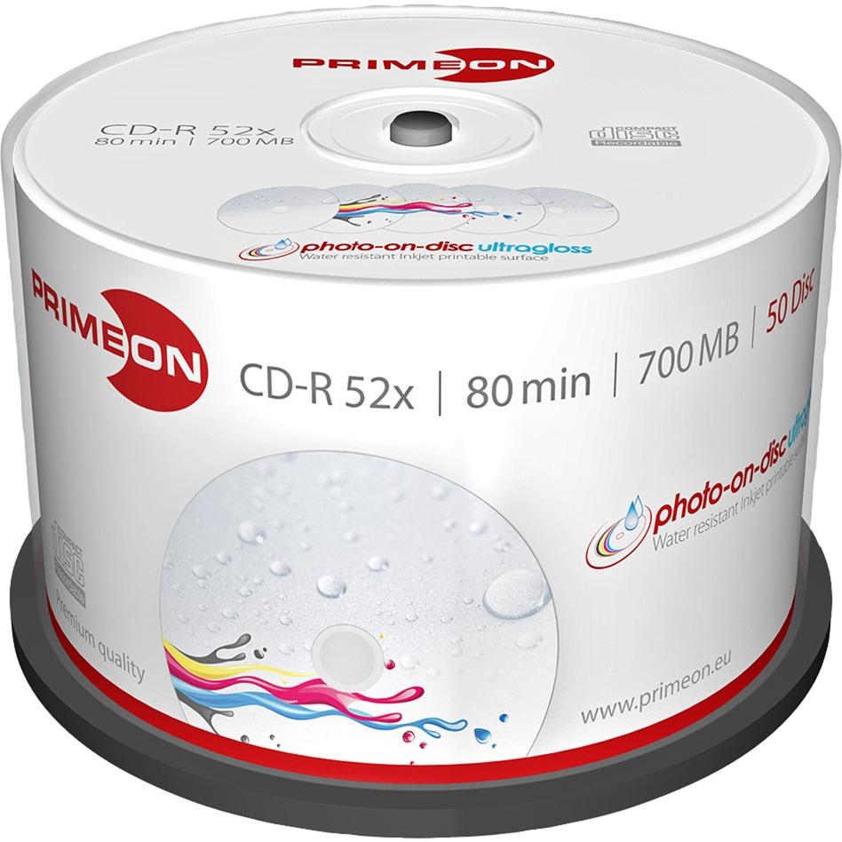 2761109 CD-R 700MB 50pieza(s) CD en blanco, CDs vírgenes