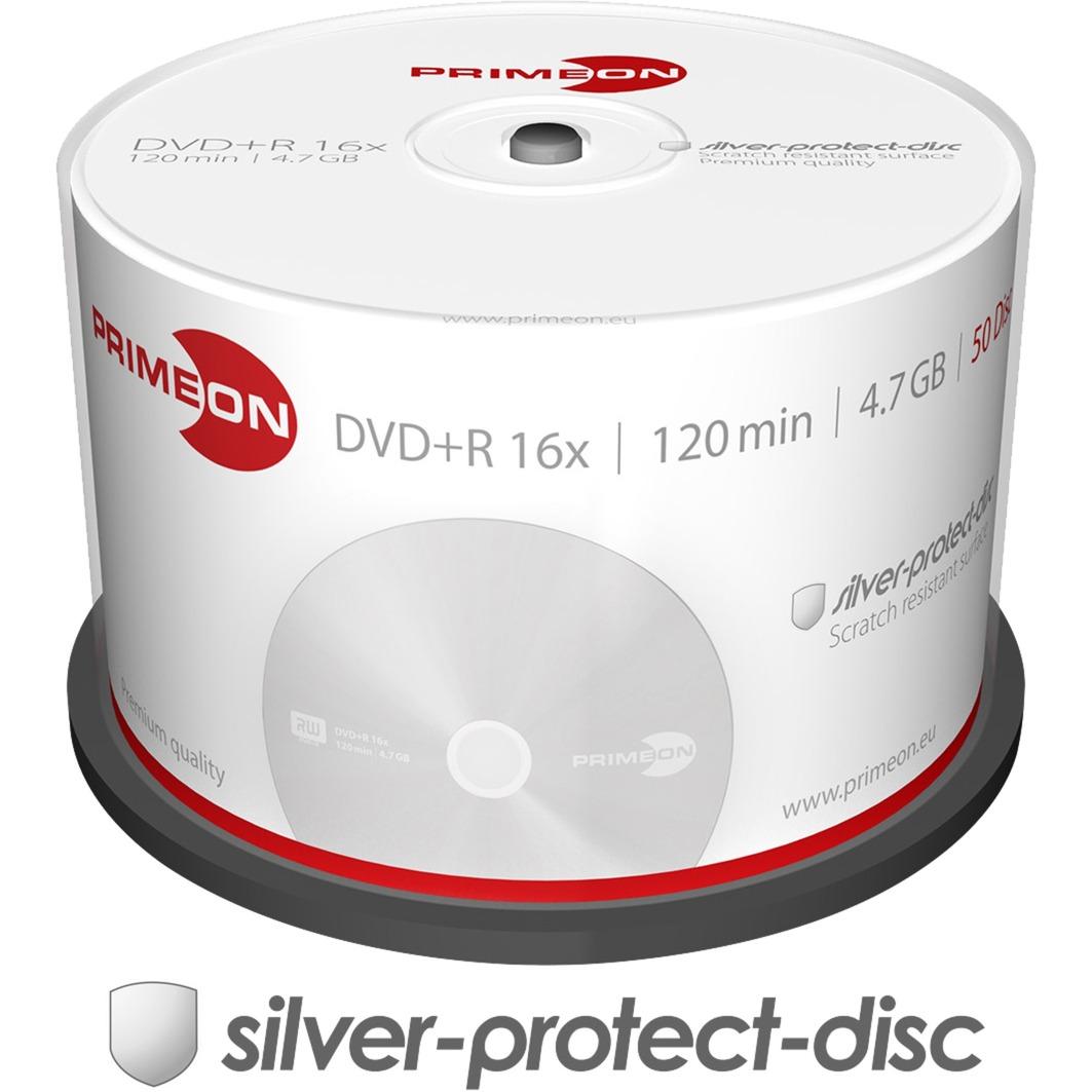 2761224 4.7GB DVD+R 50pieza(s) DVD en blanco, DVDs vírgenes