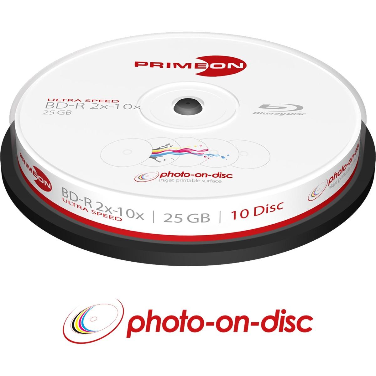 2761309 25GB BD-R disco blu-ray lectura/escritura (BD), Discos Blu-ray vírgenes