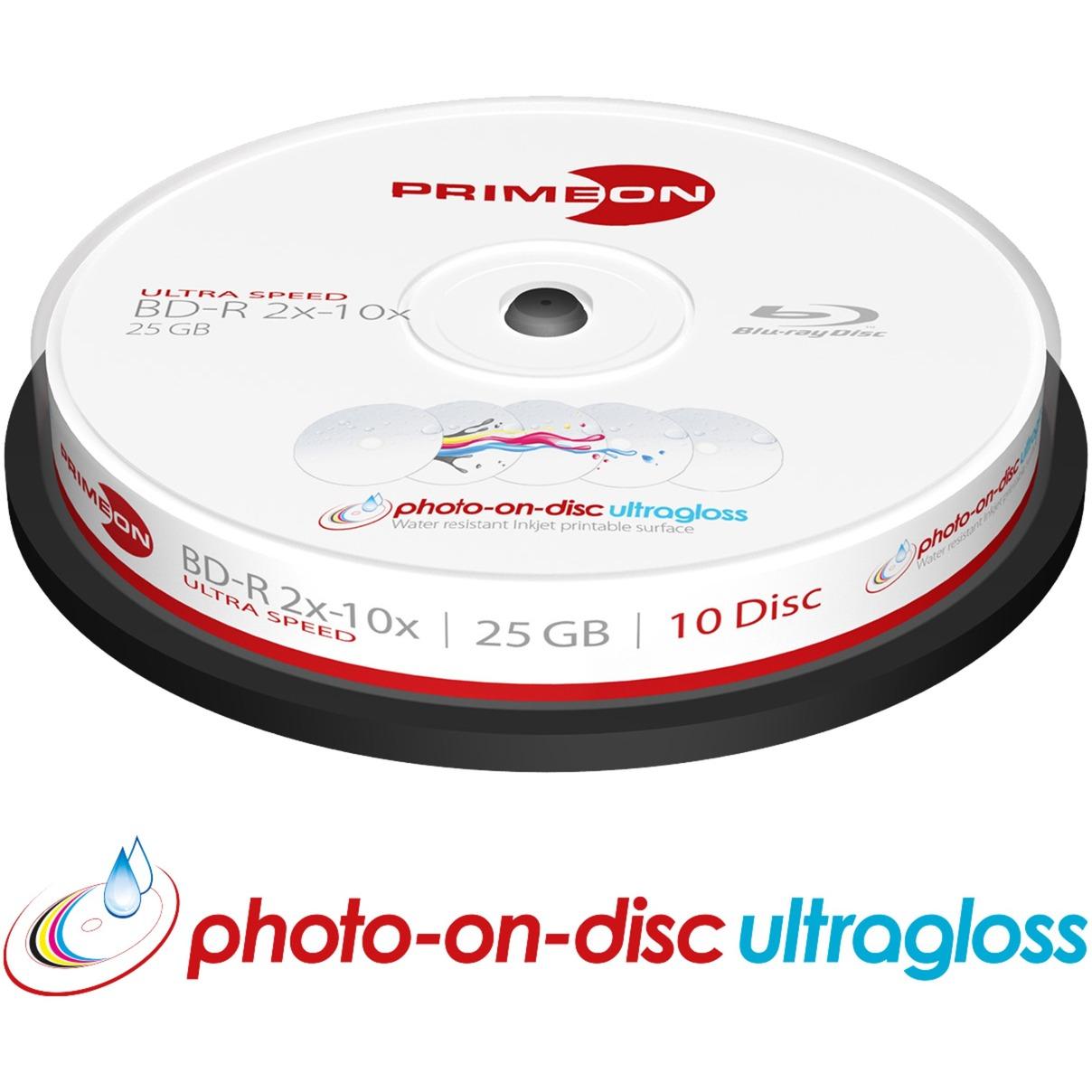 2761316 25GB BD-R disco blu-ray lectura/escritura (BD), Discos Blu-ray vírgenes