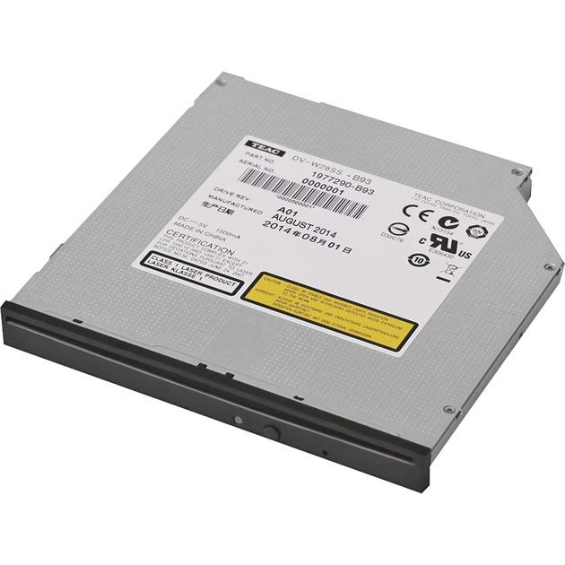 DV-W28SS-B93 Interno DVD±RW Negro unidad de disco óptico, Regrabadora DVD