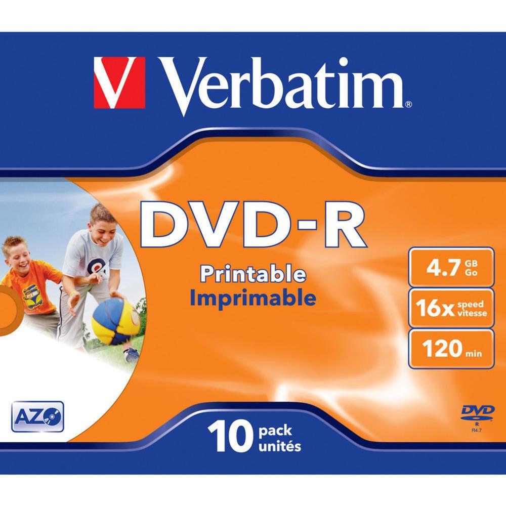 43521 DVD en blanco 4,7 GB DVD-R 10 pieza(s), DVDs vírgenes