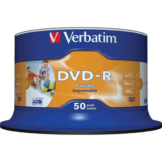 43533 DVD en blanco 4,7 GB DVD-R 50 pieza(s), DVDs vírgenes
