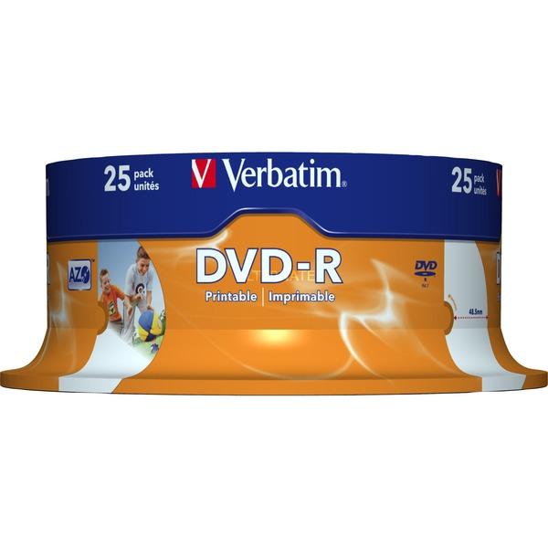43538 DVD en blanco 4,7 GB DVD-R 25 pieza(s), DVDs vírgenes