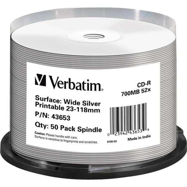 43653 CD en blanco CD-R 700 MB 50 pieza(s), CDs vírgenes
