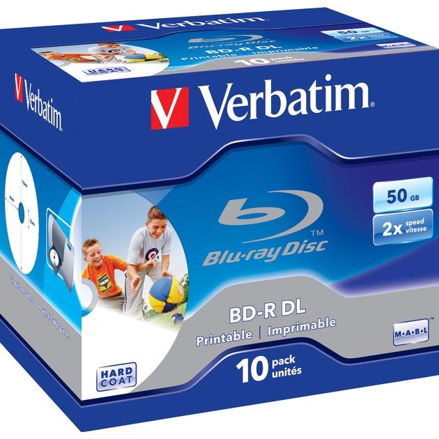 43736 disco blu-ray lectura/escritura (BD) BD-R 50 GB 10 pieza(s), Discos Blu-ray vírgenes