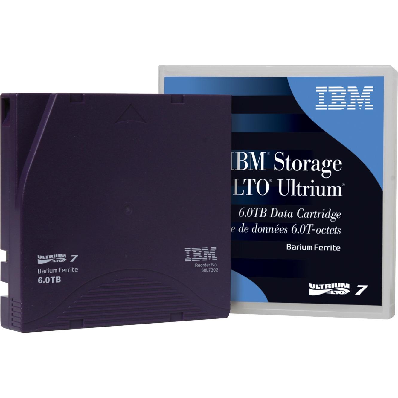 LTO Ultrium 7 Data Cartridge 6000GB LTO, Medio streaming