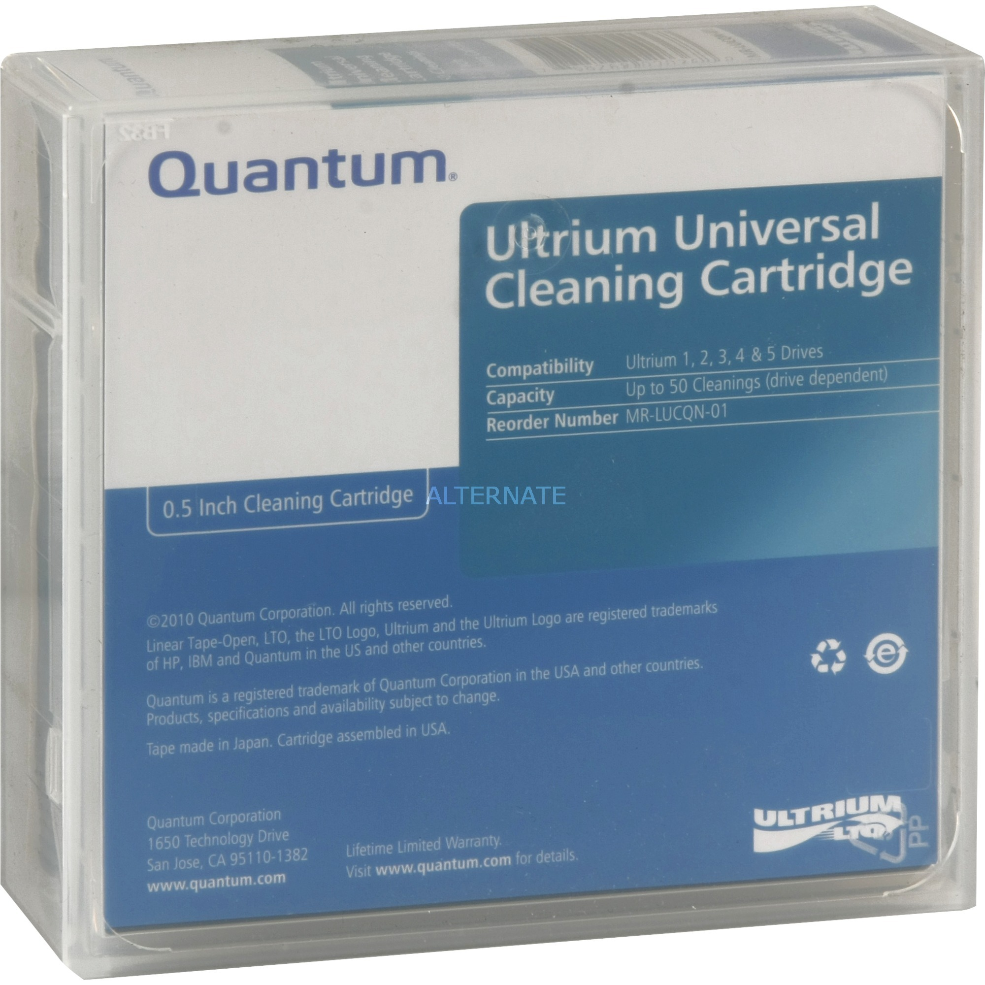 Cleaning cartridge, LTO Universal, Cinta limpiadora