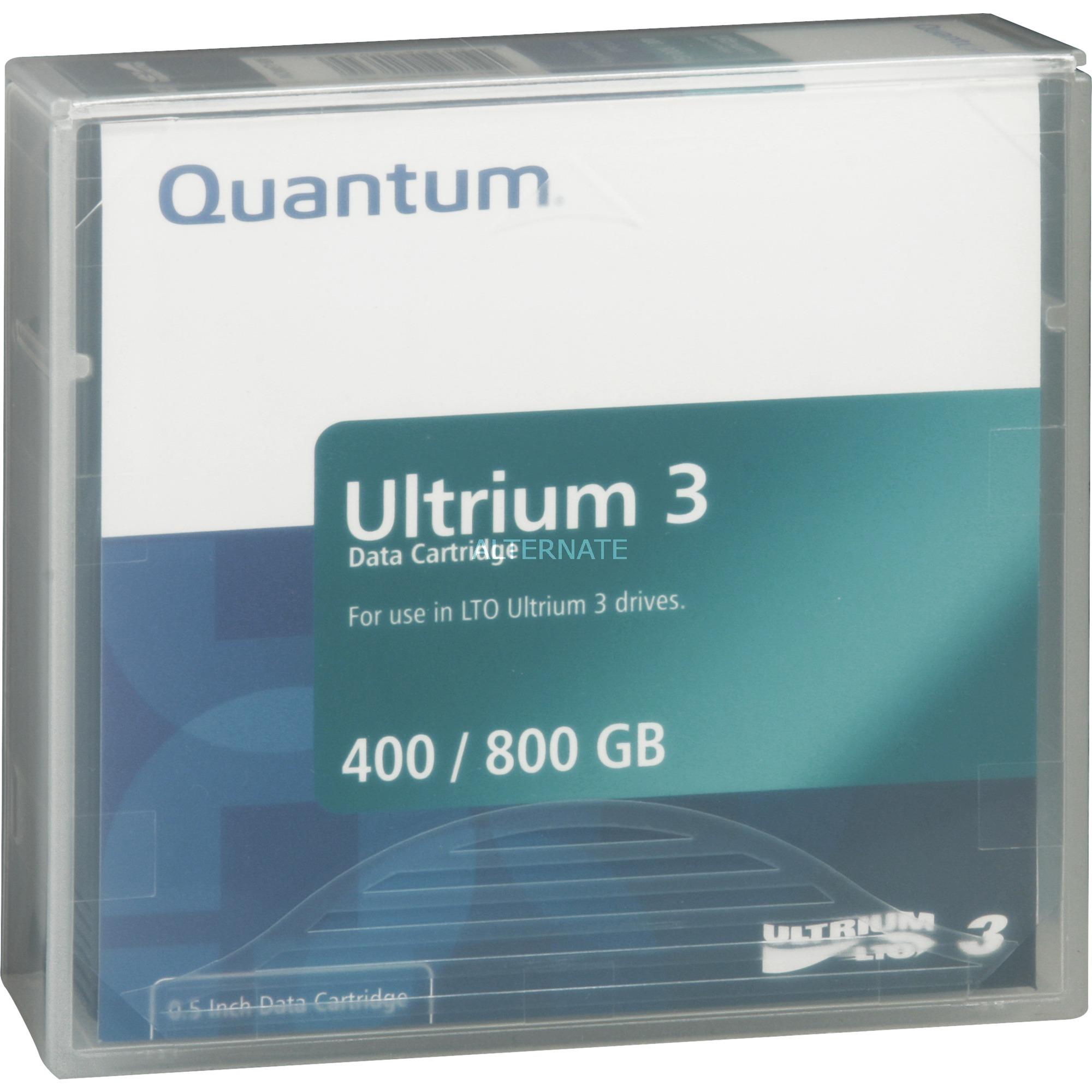 Data Cartridge LTO-3, Medio streaming