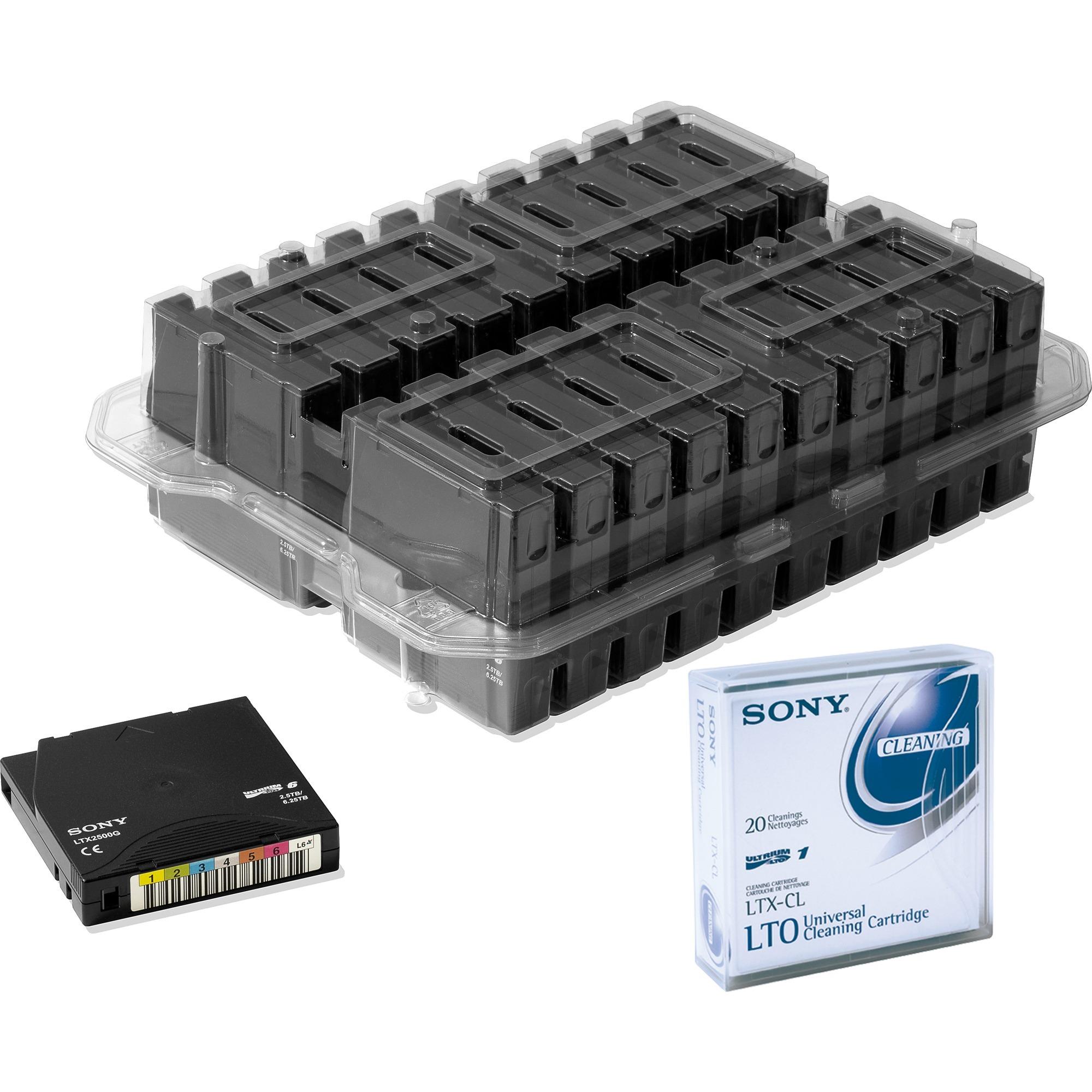 LTO6, 6.25TB/2.5TB LTO 2500 GB 1,27 cm, Medio streaming