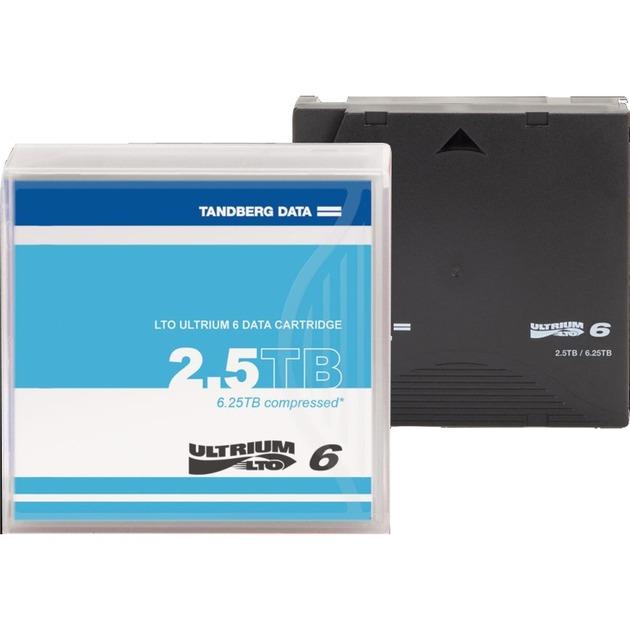 LTO-6 2500GB 12.65mm, Medio streaming