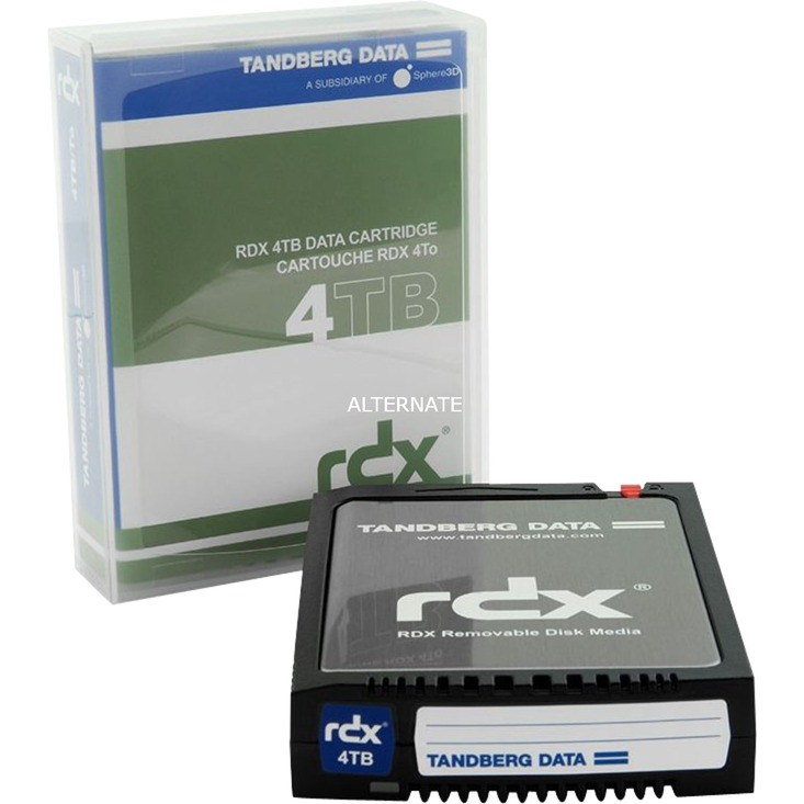 RDX QuikStor 4TB 4000 GB, Disco extraíble