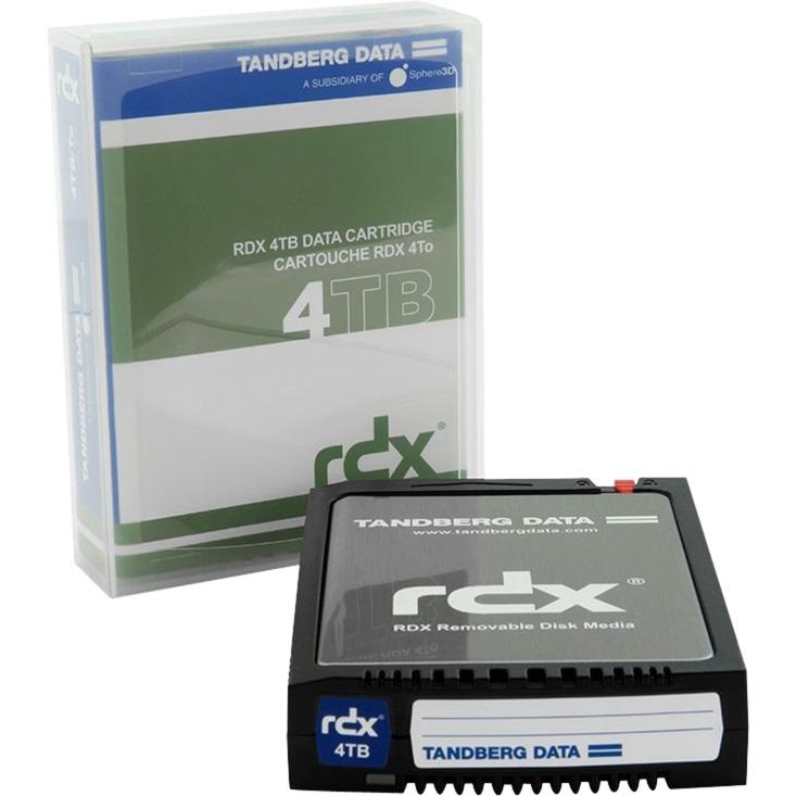 RDX QuikStor 4TB disco duro interno Unidad de disco duro 4000 GB, Disco extraíble