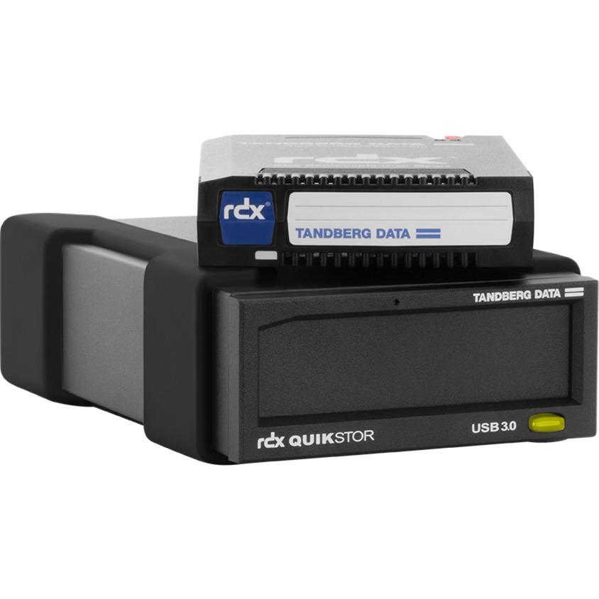RDX QuikStor disco duro externo 4000 GB Negro, Unidad RDX