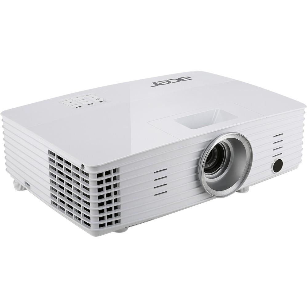 Basic X1385WH Proyector para escritorio 3400lúmenes ANSI DLP WXGA (1280x800) 3D Blanco videoproyector, Proyector DLP