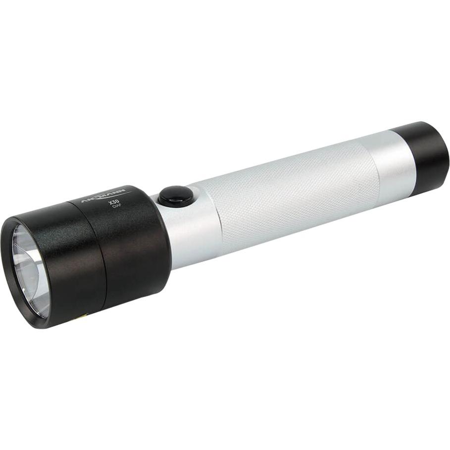1600-0155 Linterna de mano LED Aluminio, Negro linterna