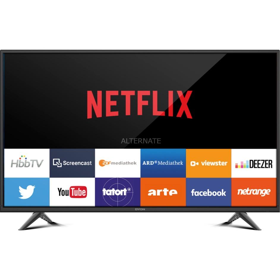 """SMART 32 PRO 80 cm (31.5"""") WXGA Smart TV Wifi Negro, Televisor LED"""