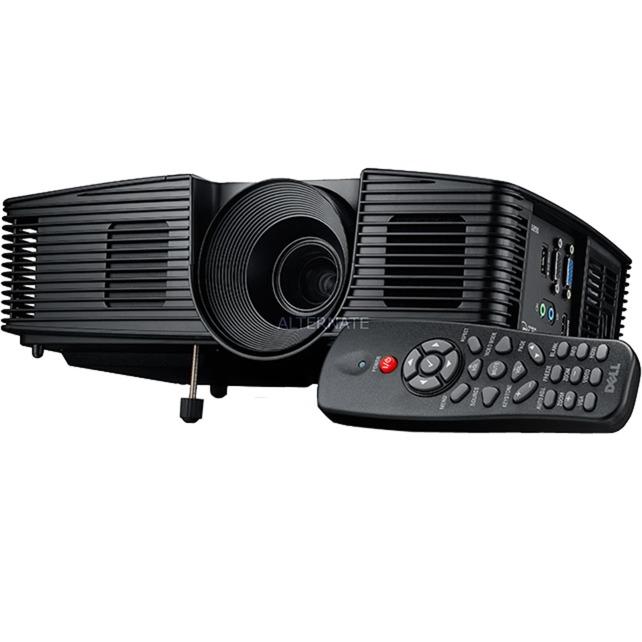 1850 Proyector para escritorio 3000lúmenes ANSI DLP 1080p (1920x1080) 3D Negro videoproyector, Proyector DLP