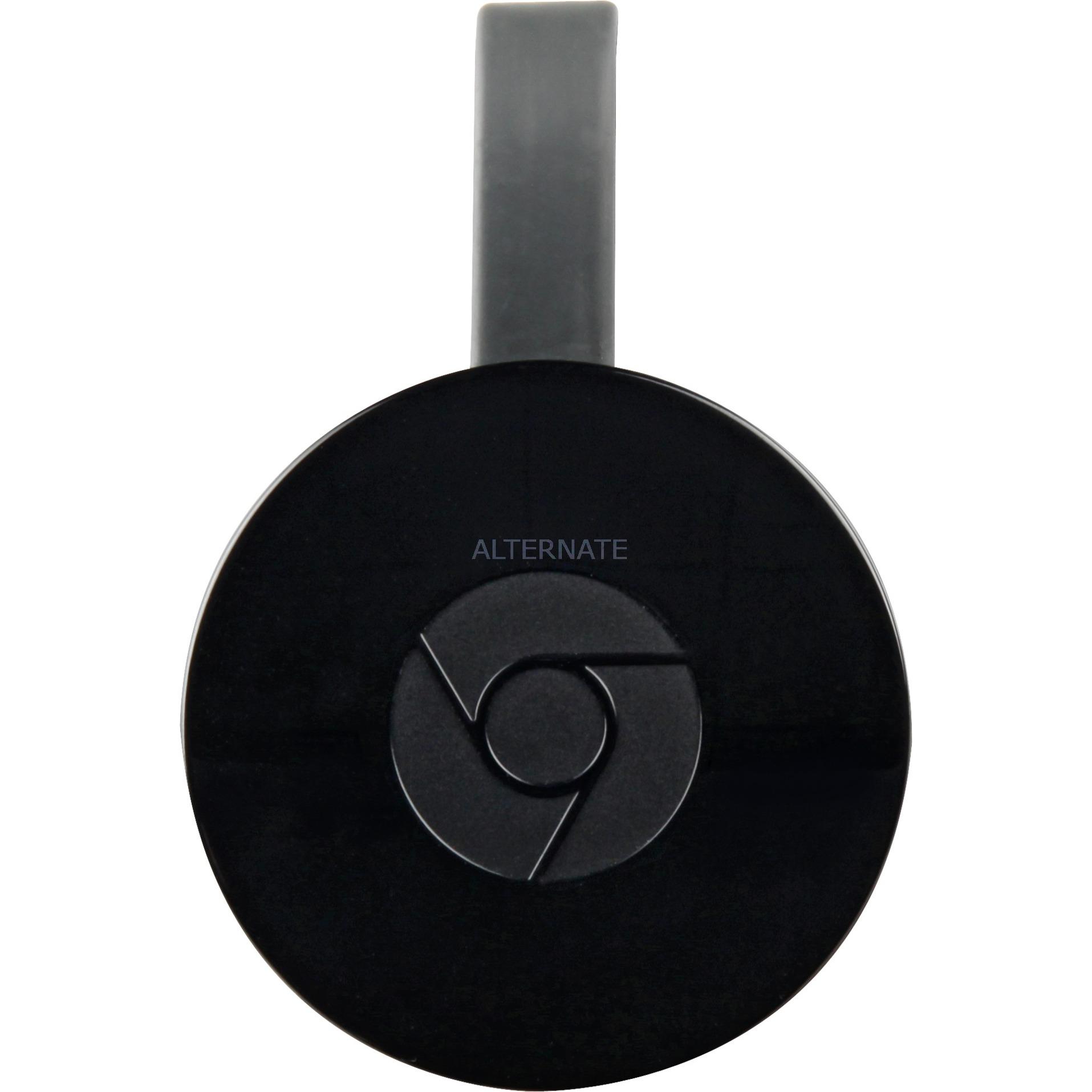 Chromecast 2015 dongle Smart TV Full HD HDMI Negro, Cliente streaming