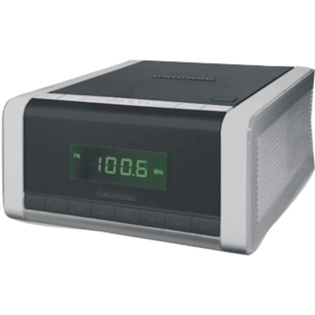 CCD 5690 PLL Digital 1,5 W Negro, Plata, Radio despertador