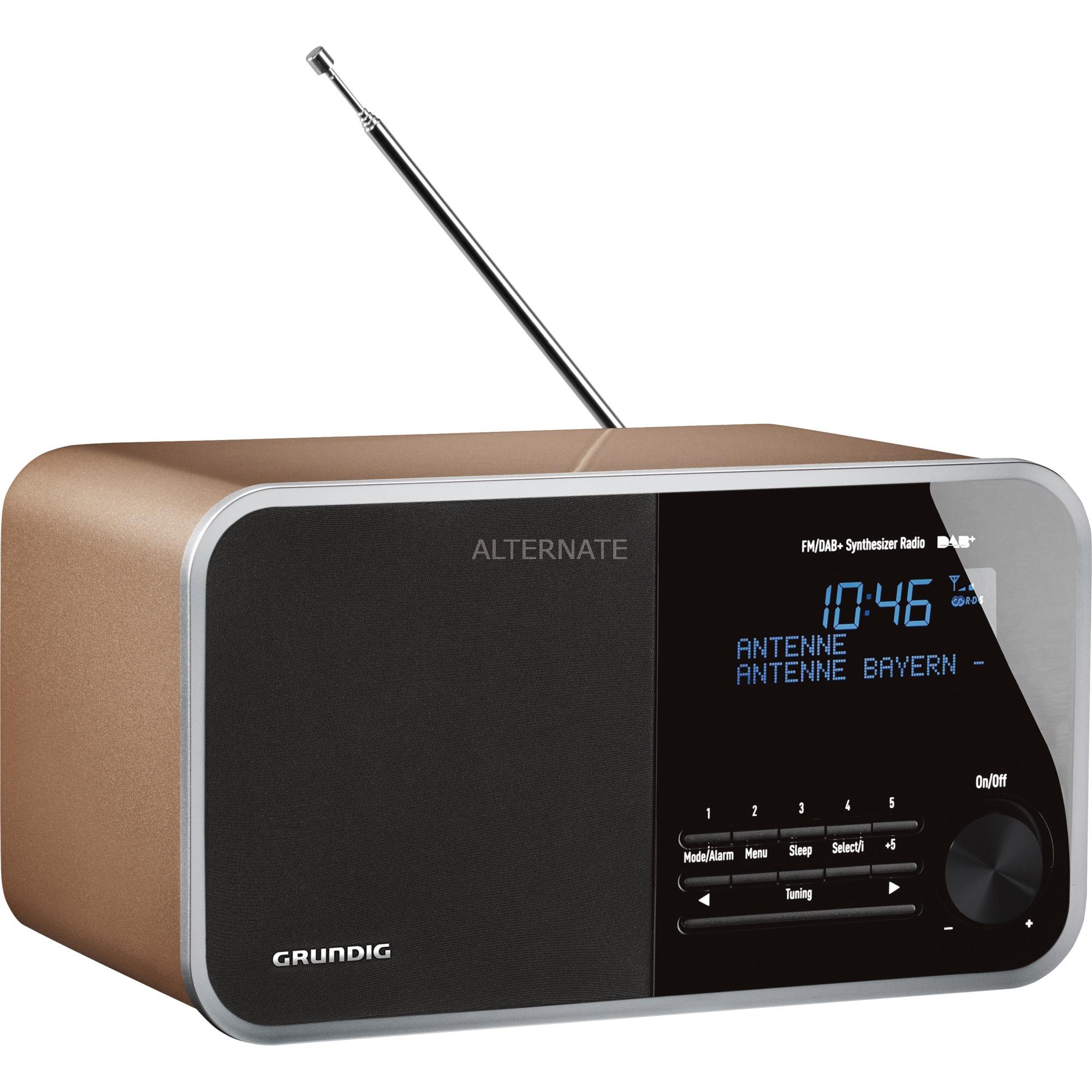 DTR 3000 DAB+ Personal Analógico y digital Champán radio