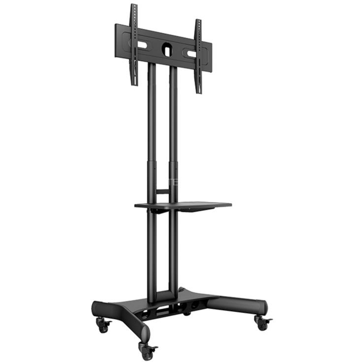 "7350073732319 soporte de pie para pantalla plana Portable flat panel floor stand Negro 152,4 cm (60"")"