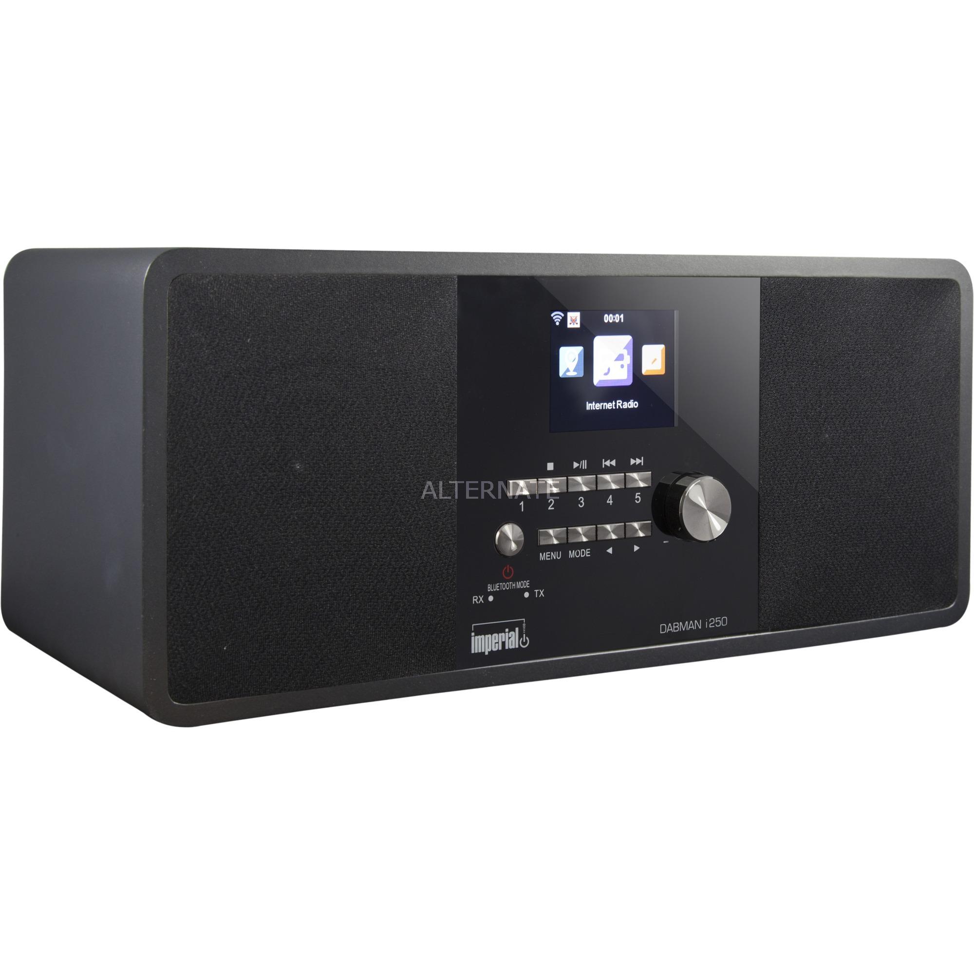 DABMAN i250 radio Internet Digital Negro