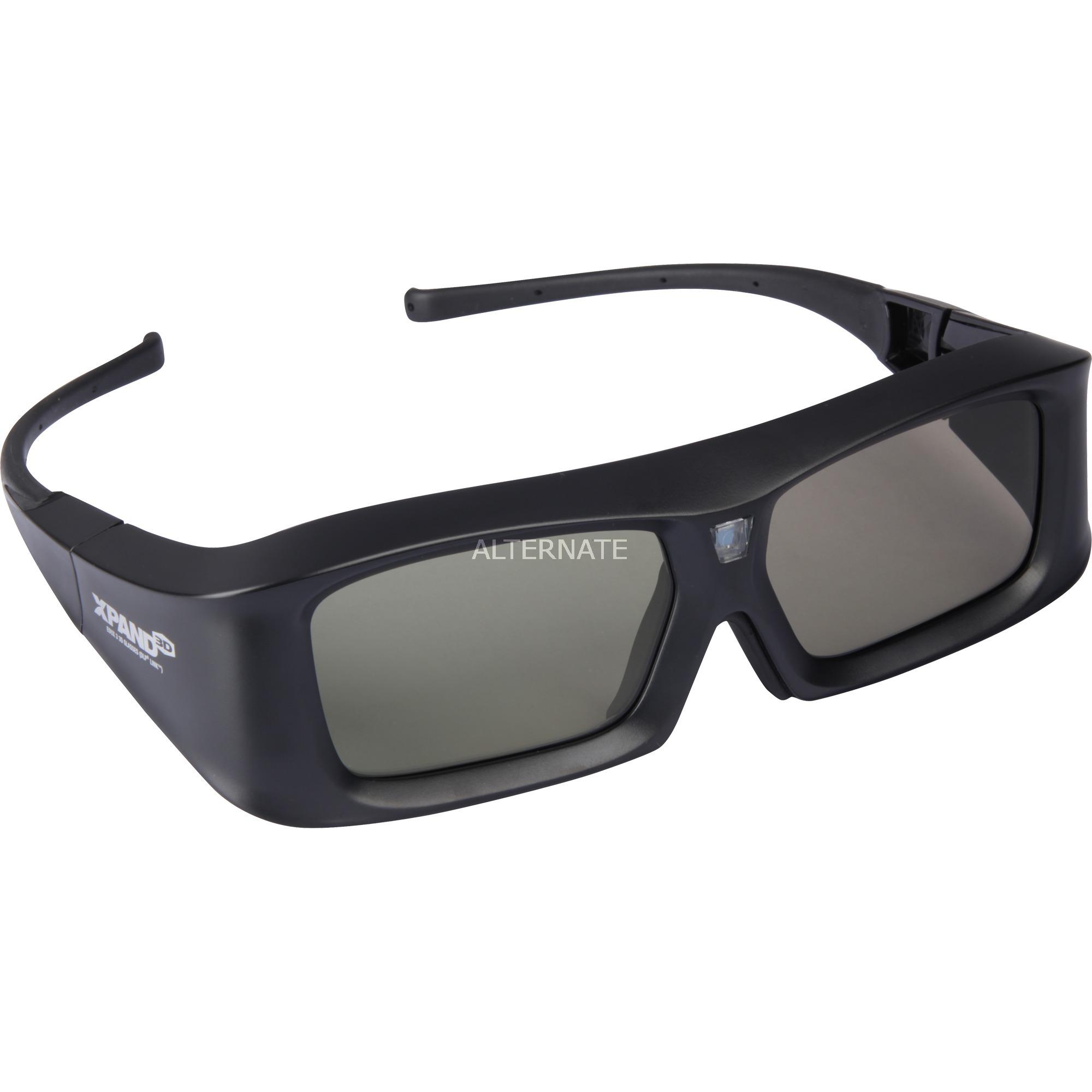 X103-EDUX3-R1 Azul gafas 3D estereóscopico