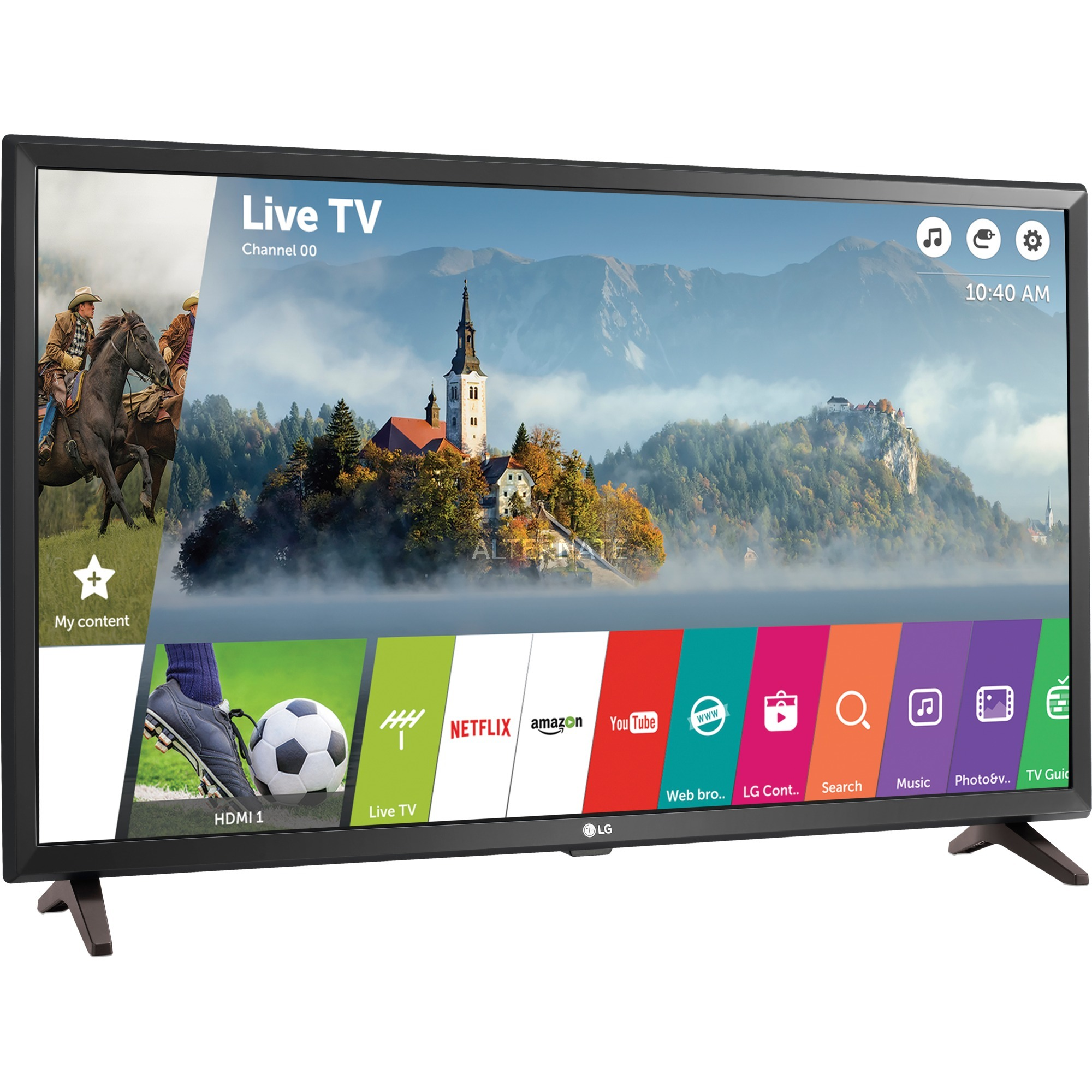 "32LJ610V 32"" Full HD Smart TV Wifi Negro LED TV, Televisor LED"