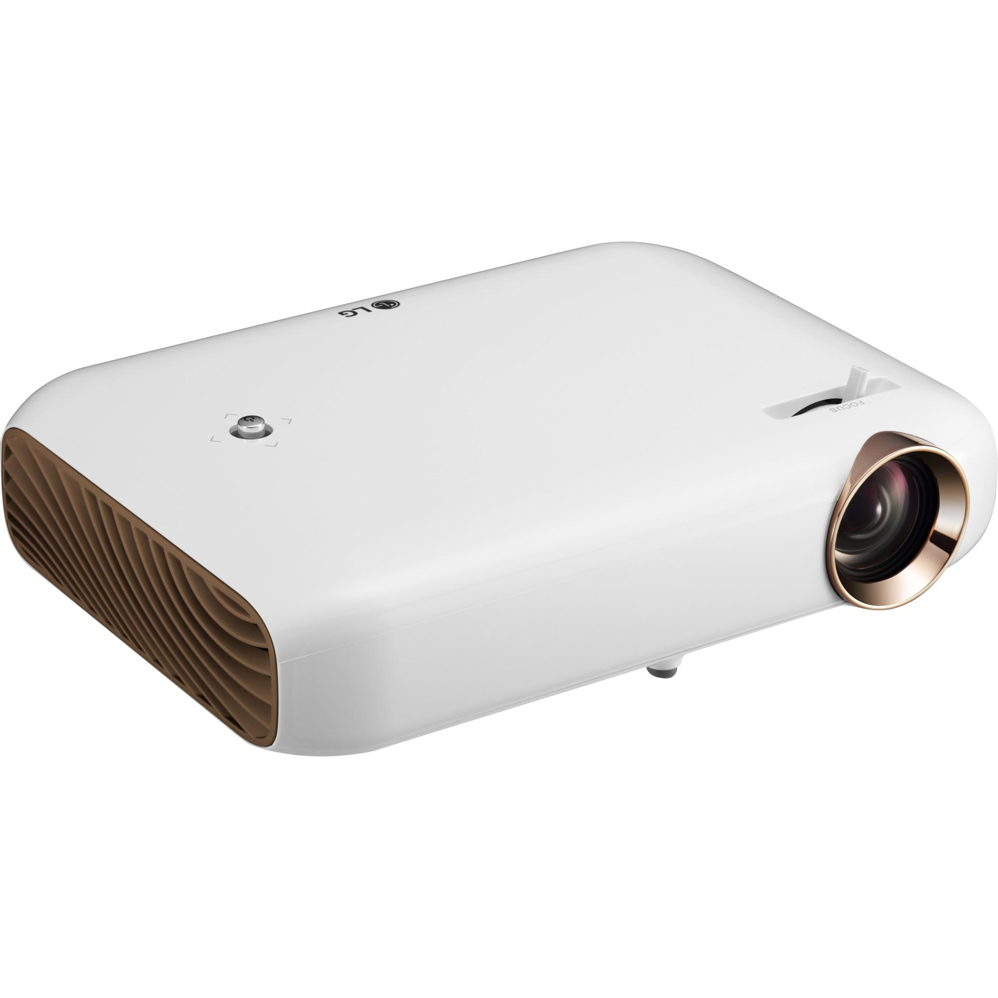 PW1500G 1500lúmenes ANSI LED WXGA (1280x800) 3D Blanco videoproyector, Proyector LED