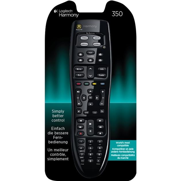 915-000235 mando a distancia IR inalámbrico Negro Botones