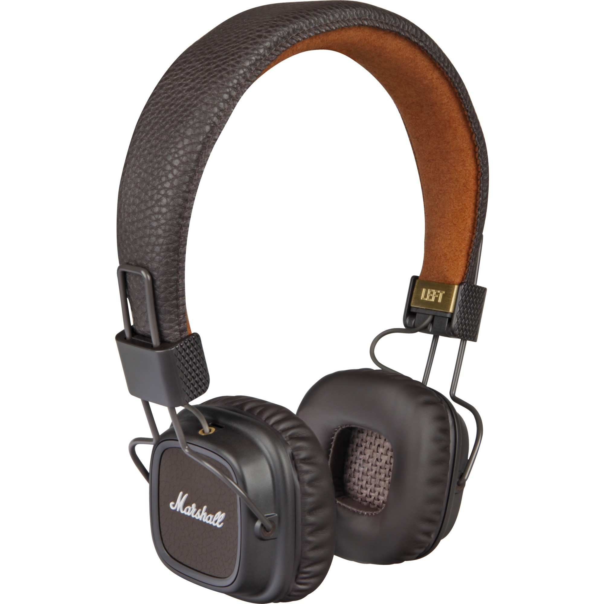 Major II Marrón Supraaural Diadema auricular, Auriculares con micrófono