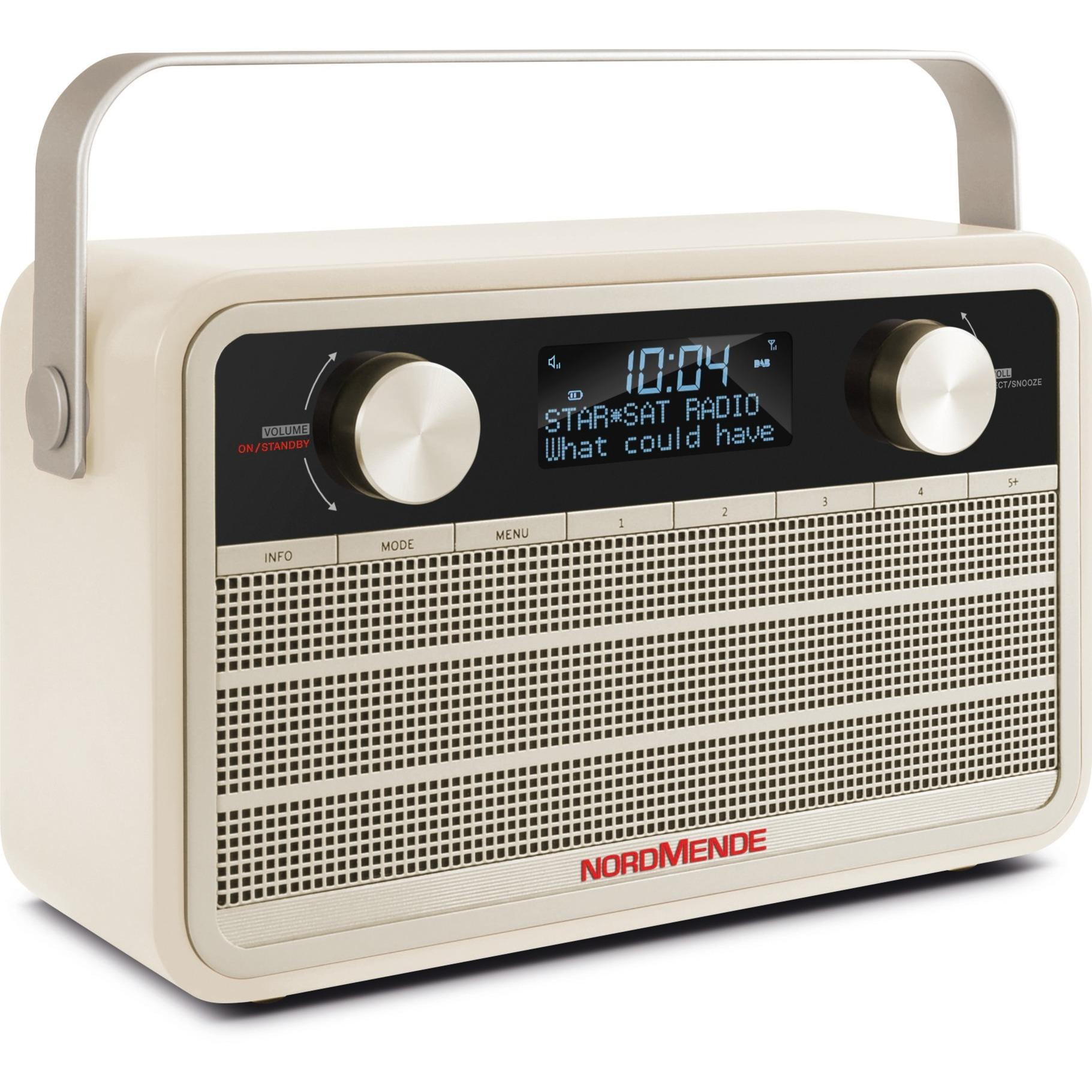 Transita 120 radio Portátil Digital Beige