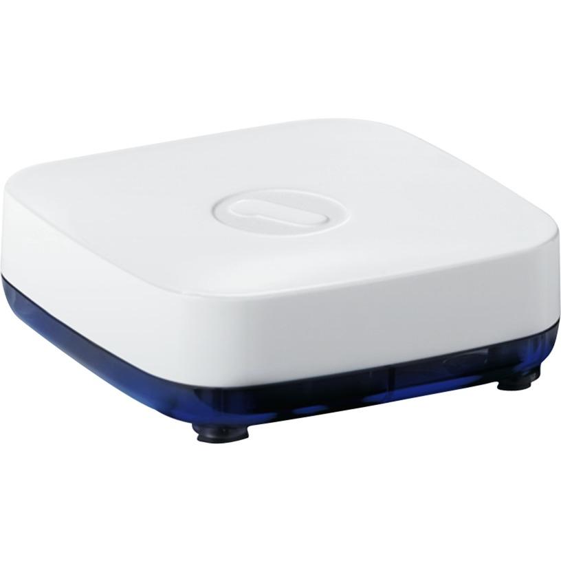 SV 1810 extensor audio/video Receptor AV Plata, Adaptador Bluetooth