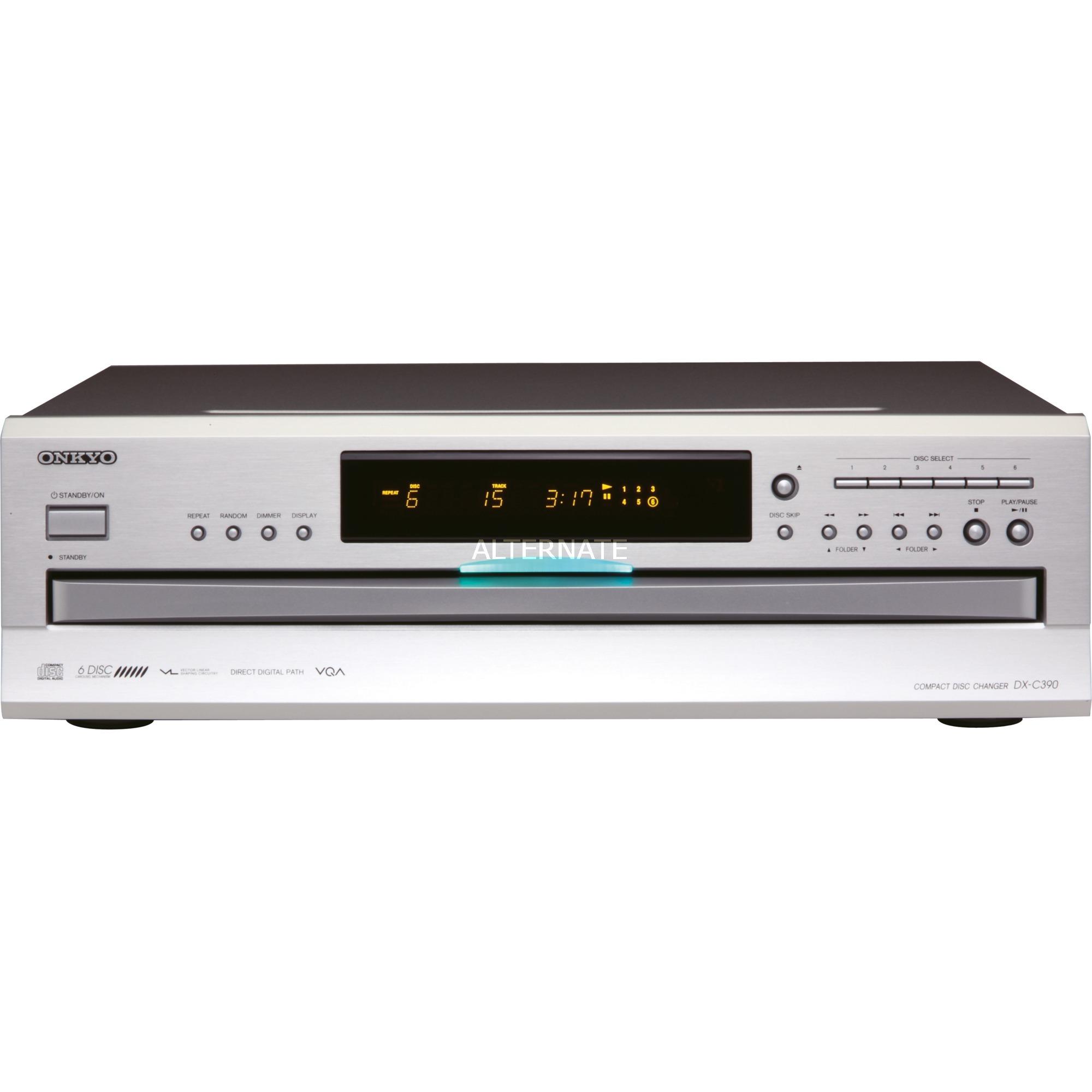 DX-C390 Portable CD player, Reproductor de CD