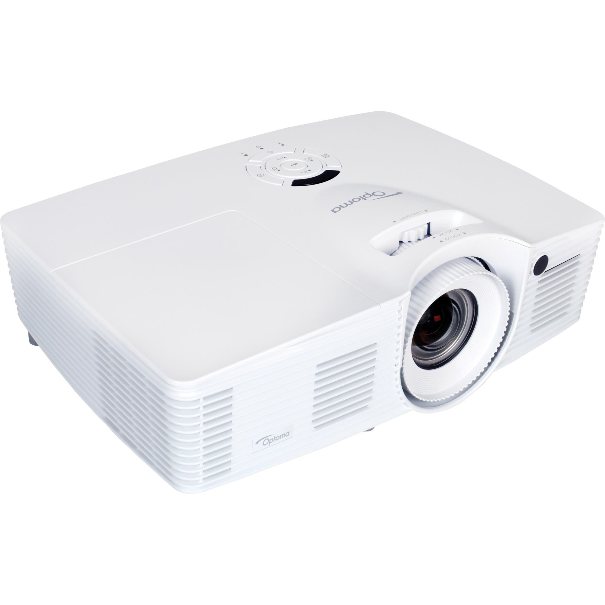 DH401 Proyector para escritorio 4000lúmenes ANSI DLP 1080p (1920x1080) 3D Blanco videoproyector, Proyector DLP