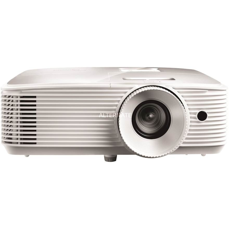 EH335 videoproyector 3600 lúmenes ANSI DLP 1080p (1920x1080) 3D Proyector para escritorio Blanco, Proyector DLP