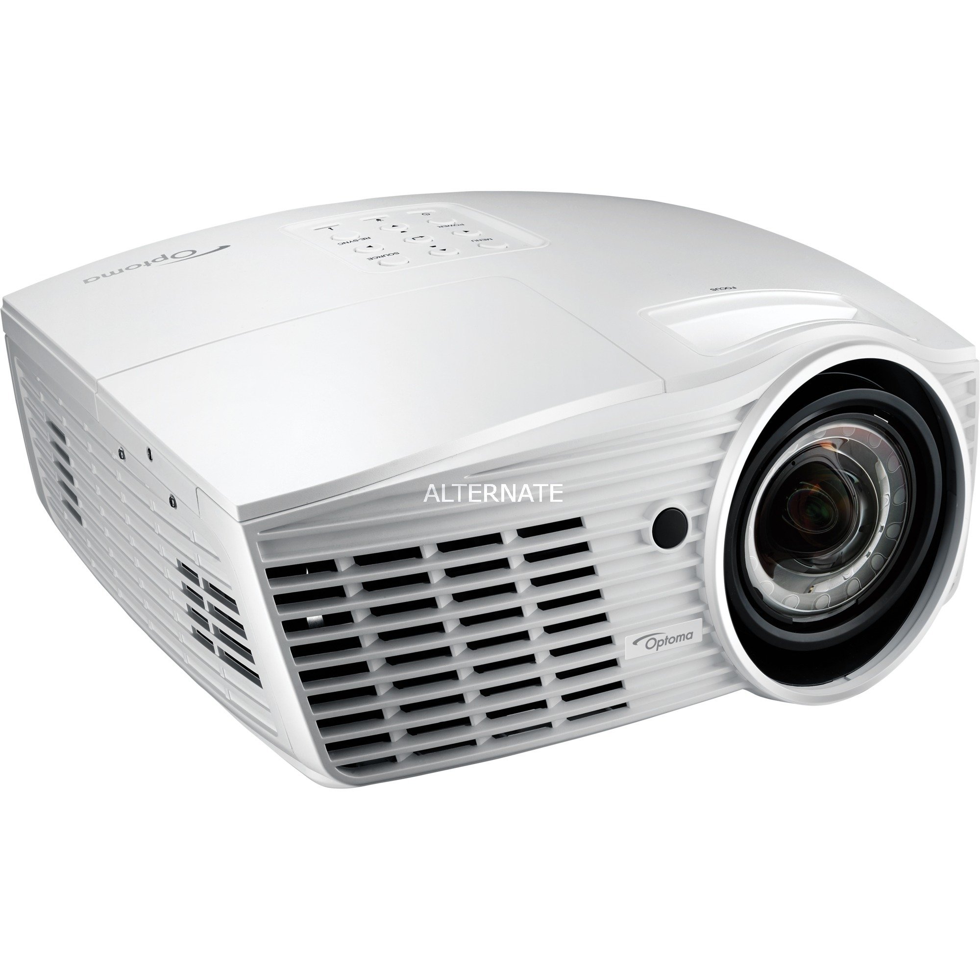 EH415ST Proyector para escritorio 3500lúmenes ANSI DLP 1080p (1920x1080) 3D Blanco videoproyector, Proyector DLP