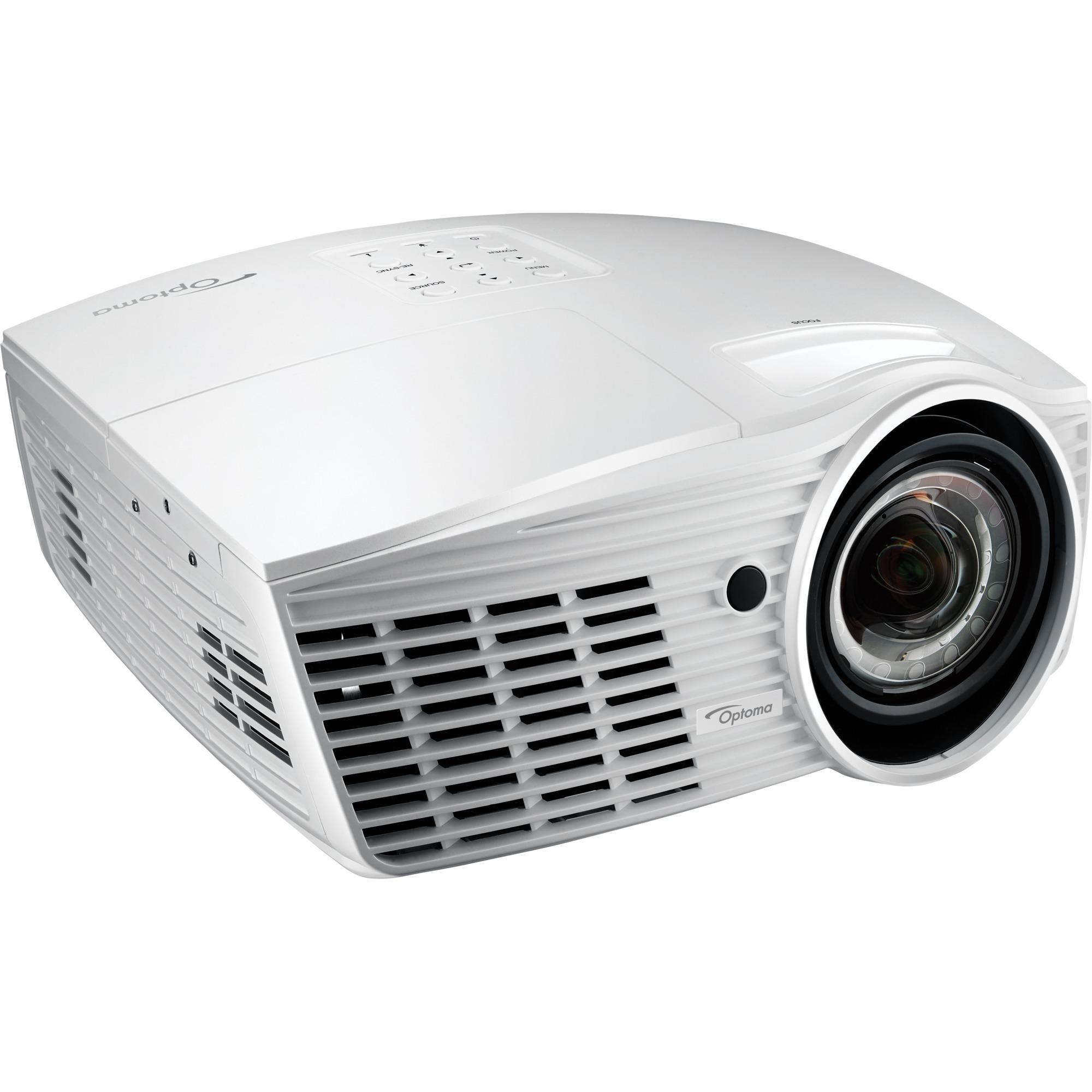EH415ST videoproyector 3500 lúmenes ANSI DLP 1080p (1920x1080) 3D Proyector para escritorio Blanco, Proyector DLP