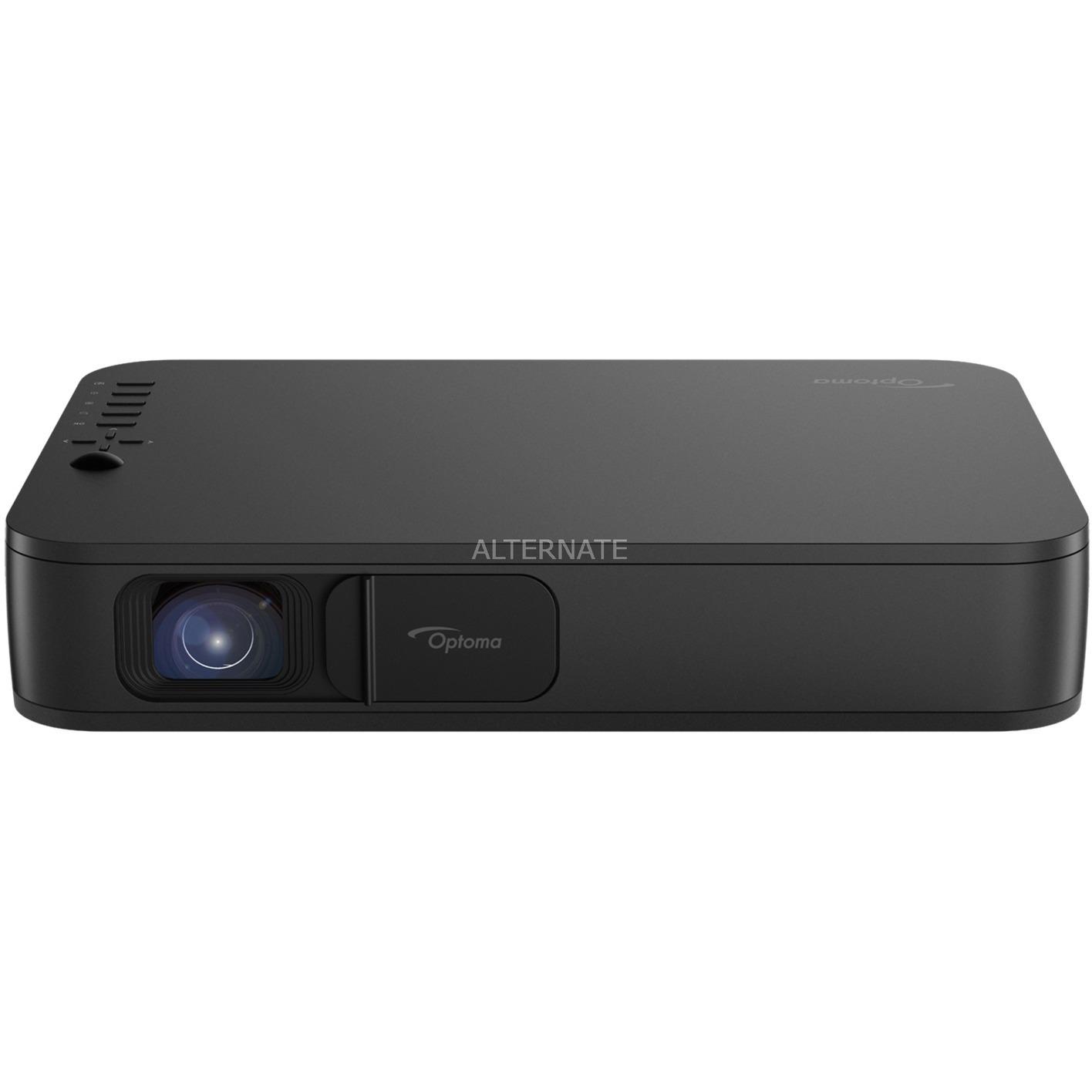 LH160 videoproyector 1500 lúmenes ANSI DLP 1080p (1920x1080) 3D Proyector portátil Negro, Proyector DLP